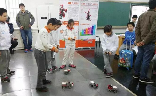 中国教育理念落后?乐博趣机器人说&quot不&quot!